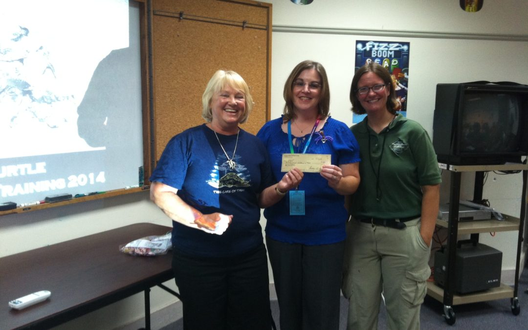 Outer Banks Woman's Club Donates to N.E.S.T.!