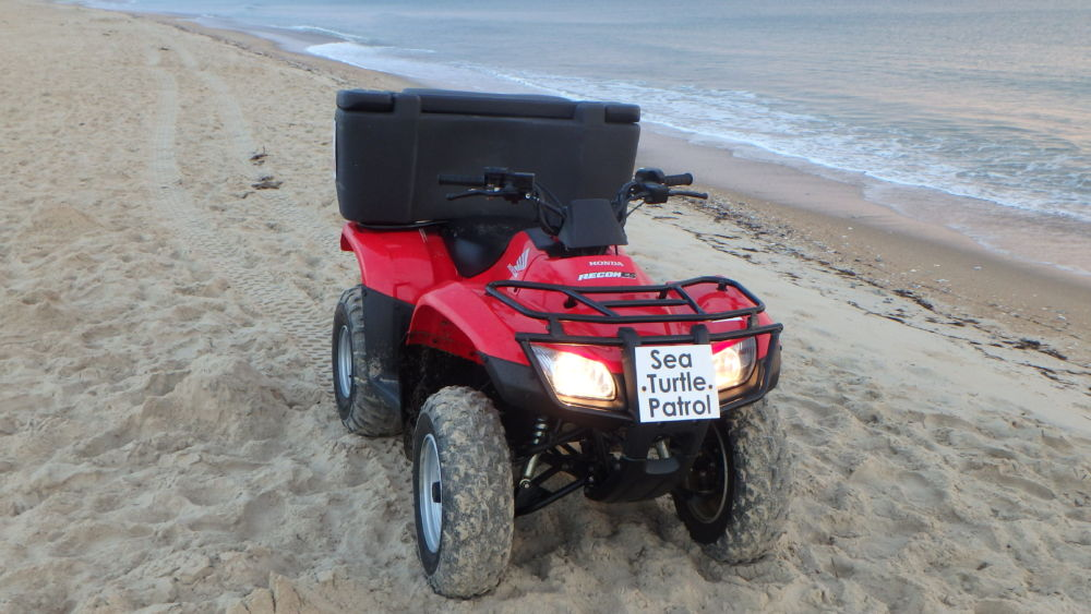 One of the NEST ATVs at the ready