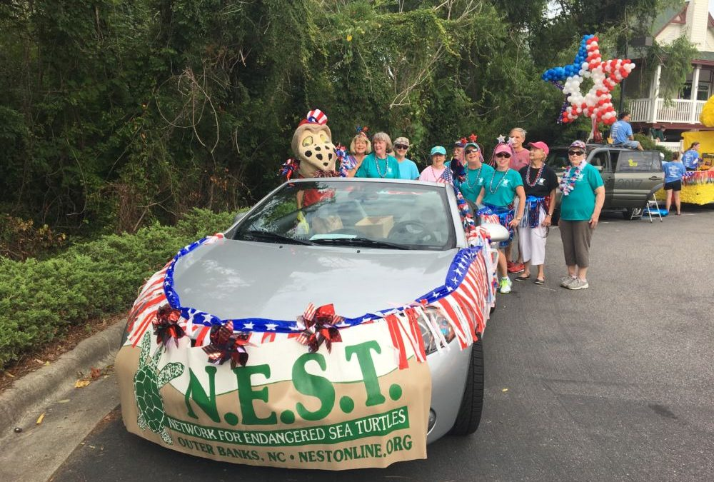 July 4th Duck, NC parade