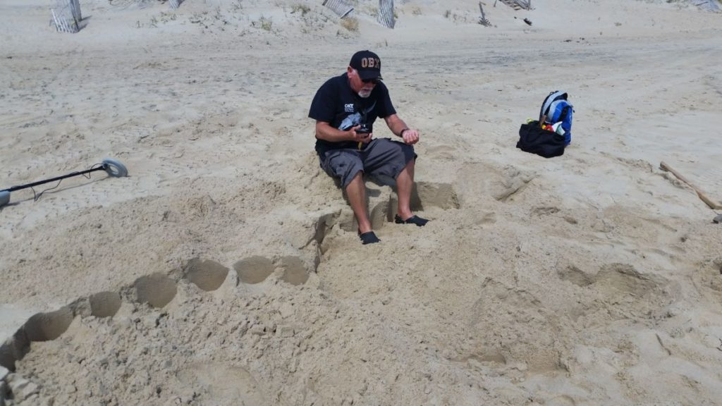 Rich, using gps coordinates and crawl entry data attempts to possibly find the egg chamber.