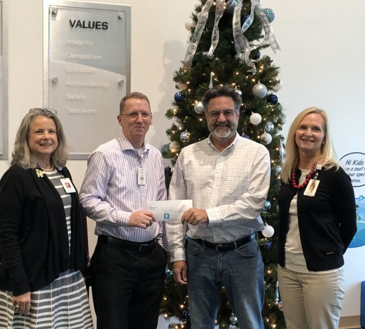 Outer Banks Hospital and Medical Group selects N.E.S.T. for annual Christmas donation