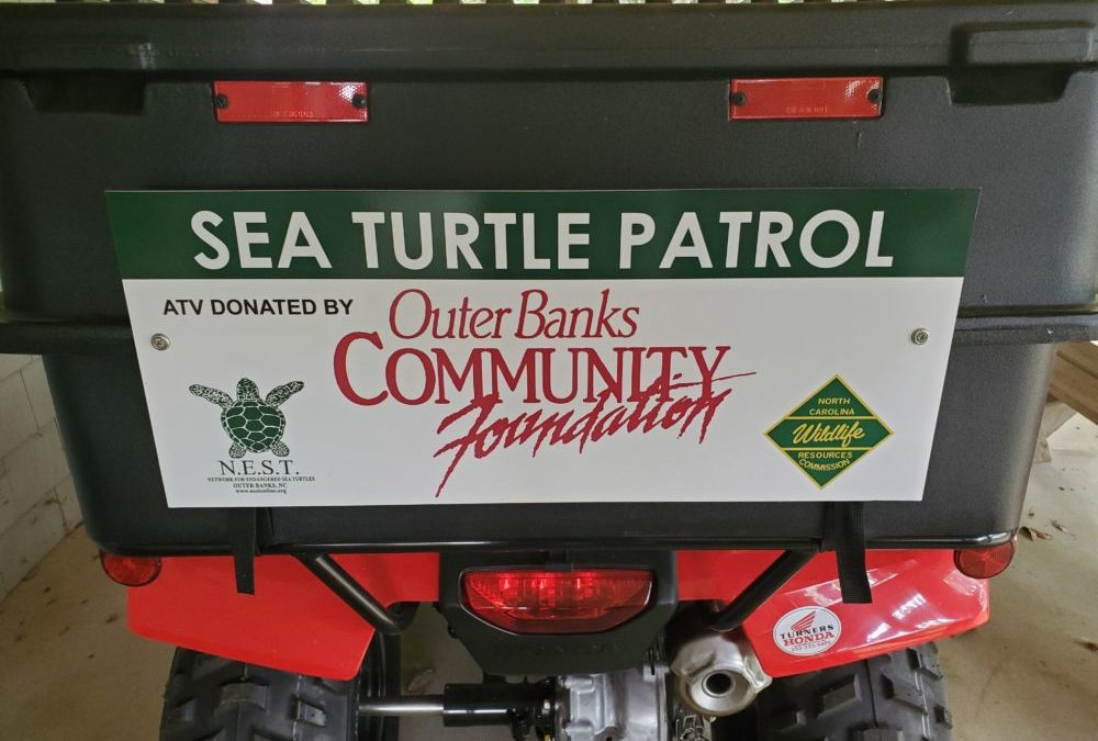 The Outer Banks Community Foundation  Awards N.E.S.T. Funds for Two ATVs!!